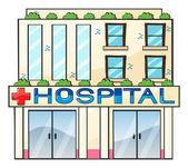 Hospital — Stock Vector