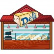 A cheese store — Stock Vector #18289765