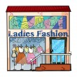 Ladies fashion store — Stock Vector #18364205