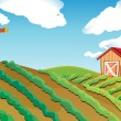 Farm House — Stock Vector #18837125