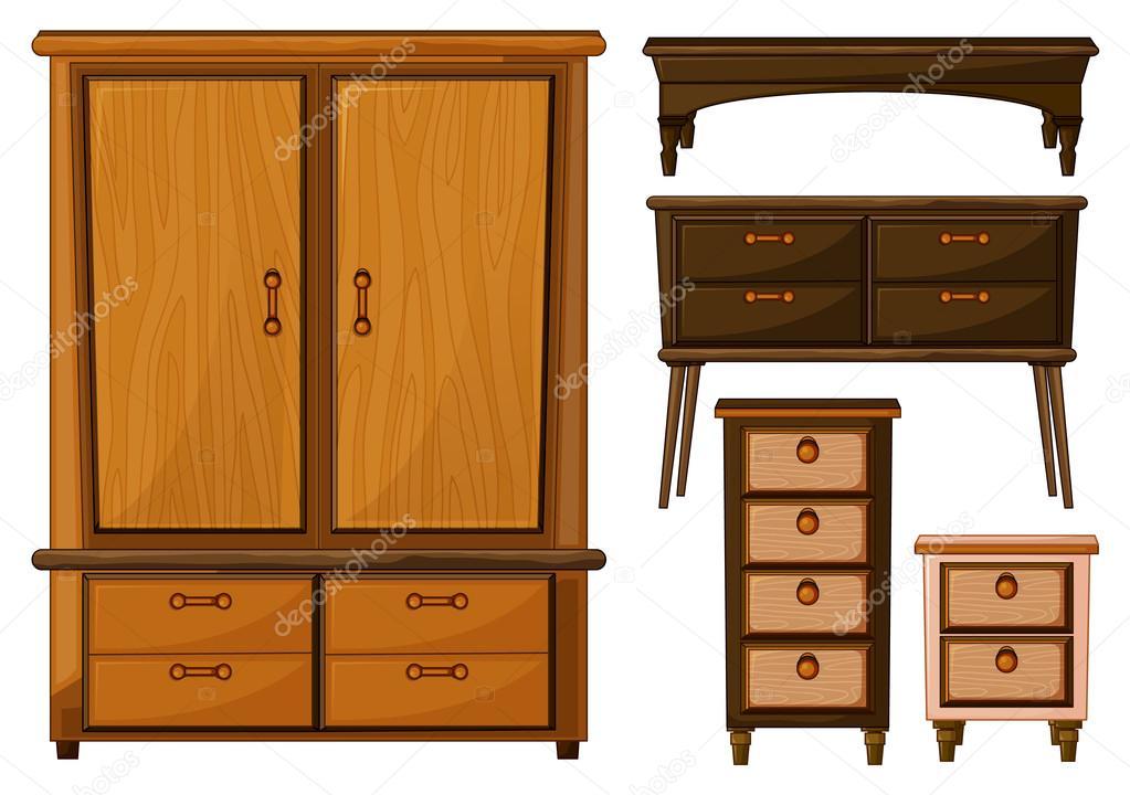 Muebles de madera archivo im genes vectoriales for Imagenes de muebles