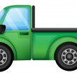 A green truck — Stock Vector #18916331