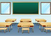 A classroom — Stock Vector