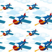 Aeroplanes — Stock Vector