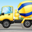 A cement truck — Stock Vector #20034433