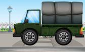 A big truck — Stock Vector