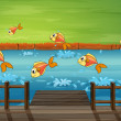 A school of fish — Stock Vector #20061049