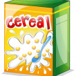 Stock Vector: A cereal