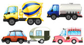 Useful vehicles — Vettoriale Stock