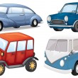 Different vehicle styles — Stock Vector