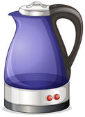 An electric kettle — Stock Vector