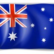 Royalty-Free Stock Vector Image: Flag of Australia