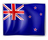 Flag of New Zealand — Stock Vector