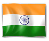 Flag of India — Stock Vector