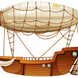 An airship - Stock Vector