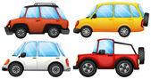 Quatre dispositifs de transport — Vecteur