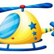 Stock Vector: Helicopter toy