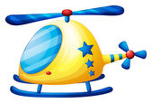 A helicopter toy — Stock Vector