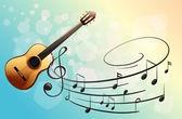 A musical instrument — Stock Vector