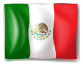 The flag of Mexico — Stock Vector