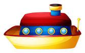 A toy ship — Stock Vector