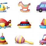 Постер, плакат: Nine different kind of toys