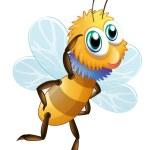 Постер, плакат: A stripe bumblebee