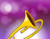A trombone — Stock Vector