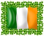 подставил флаг ирландии — Cтоковый вектор