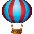 A hot air balloon — Imagen vectorial