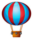 A hot air balloon — Stockvector