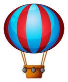 Einen heißluftballon — Stockvektor