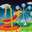 A carnival at the hill - Imagen vectorial