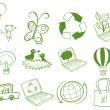 Eco-friendly designs — Stock Vector #24582357