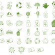 Different eco-friendly objects - ベクター素材ストック