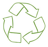 A recycle symbol — Stock Vector