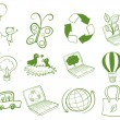 Stock Vector: Eco-friendly designs
