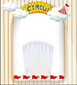 A circus entrance — Stock Vector