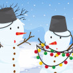 Snowmen — Stock Vector