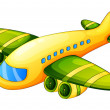 an airplane — Stock Vector