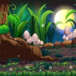 An enchanted forest — Imagen vectorial