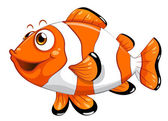 Un pez nemo — Vector de stock