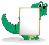 A crocodile — Stock Vector