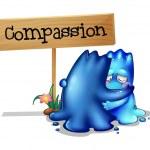 Постер, плакат: Two compassionate monsters