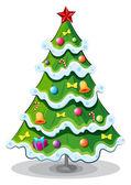 A christmas tree — Stock Vector