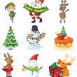 Stock Vector: Christmas designs