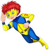A male superhero — Stock Vector