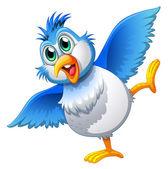 A cute bird — Stock Vector