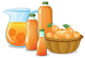 Juice drink — Stock Vector