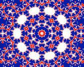 A unique tile pattern — Stock Vector